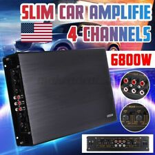 New listing 6800W Subwoofer Car Amplifier 4 Channel Stereo Audio Super Bass Amp A/