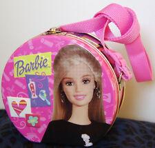 Mattel / Barbie Storage Tin Lunch Box  / Shoulder Strap - Collectible 2004