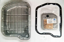 97-08 RAM DAKOTA DURANGO 46RE 47RE 48RE TRANS TRANSMISSION PAN & GASKET & FILTER