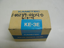 NEW KANETEC KE-3E ELECTRO MAGNETIC HOLDER DC 24 VOLT 0.085 AMP