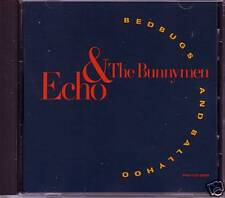 Echo & The Bunnymen Bedbugs Mixs Cd Promo Ian McCulloch