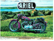 Ariel Motorcycle Large Steel Sign 400mm x 300mm (og)