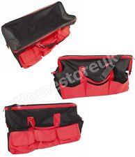 "Forte 24 ""Wide Mouth TOOL HOLDER Storage Bag Grande con base rinforzata B206"