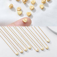 EE_ Sweet Women Letter Heart Pendant Titanium Steel Chain Necklace Jewelry Gift