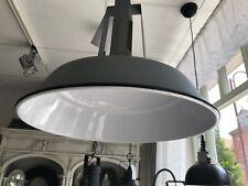 Tolle Hängelampe Deckenlampe Shabby Industrie Design Loft grau Emaille