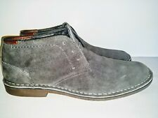 Kenneth Cole Reaction Mens Desert Wind Chukka Boots Men Size 13 Grey PreOwned