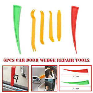 6Pcs Door Window Tool Enlarger Wedge Dent Repair Paint Auxiliary Expansion Clip
