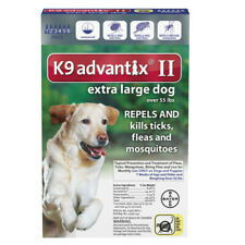 K9 Advantix II for Dog Over 55 lbs - 6 Pack (US EPA Approved) Free Shiping