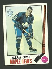 Murray Oliver Toronto Maple Leafs 1969-70 Topps Hockey Card #52 EX/MT