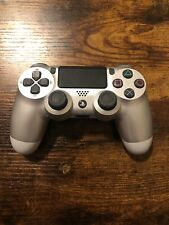 Sony Playstation 4 PS4 DualShock 4 Wireless Controller Silver OEM CUH-ZCT2U
