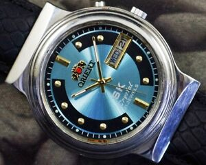 VINTAGE ORIENT SUPER KING AUTOMATIC CAL.46941 JAPAN MENS OLD WATCH WORKING 22212