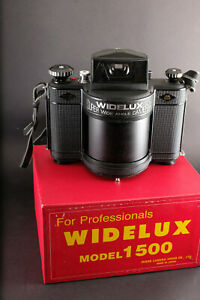 Panon Widelux 1500 Super Wide Angle Medium Format Panoramic Camera- Exc +++++