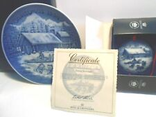 "2 pc.~Plate & Ornament~1994 Christmas""Eve in Alaska"" Bing Grondahl B&G Collector"