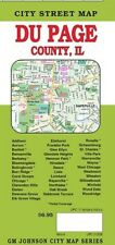 City Street Map of Du Page, Illinois, by GMJ Maps