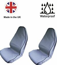 Seat Covers Waterproof to fit  Fiat Punto (05-11) Premium,Grey, Heavy Duty