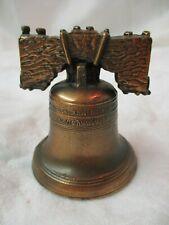 Vintage metal Liberty Bell Souvenir
