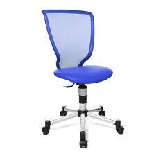 Kinder Stuhl Bürostuhl Schreibtisch Drehstuhl Topstar Titan Junior blau B-Ware
