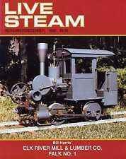Live Steam V26 N10 November/December 1992 Elk River Mill & Lumber Co. Falk No. 1