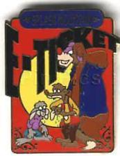 Disney Pin 1222 E-Ticket Splash Mountain Song of the South Brer Rabbit Fox *