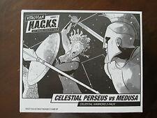 Boss fight Studio Vitruvian Hacks H.A.C.K.S Celestial Warriors Perseus VS Medusa