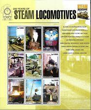 "SIERRA LEONE - 2004 MNH ""200 Years Of Steam LOCOMOTIVES"" Souvenir Sheet - III !!"