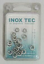 INOX TEC 20 rondelle dentellate GROWER misura diametro ø 4 mm in acciaio nuovo
