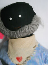 "Doll, Folk Art, Cultures & Ethnicities, Handcrafted, 20"" Old Man Cloth Folk Doll"