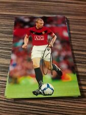 Signiertes Foto Ritchie de Laet Manchester United  NEU