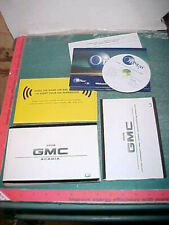 2008 GMC ACADIA suv OWNERS MANUAL excellent