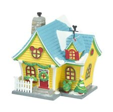 "Dept. 56 ""MICKEY'S HOUSE"" ~DISNEY VILLAGE ~ NEW ~ MIB ~ Adorable!!!!!"