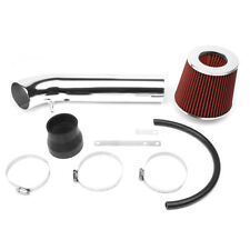 "3""PIPING SHORT RAM AIR INTAKE KIT W/RED CONE FILTER FOR 99-00 HONDA CIVIC SI"
