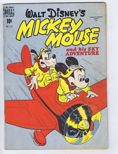Mickey Mouse F.C. #214 Wilson 1948 CANADIAN EDITION.