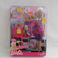2009 Barbie I Can Be Pizza Chef Complete Play Set T2694 ~NRFB~