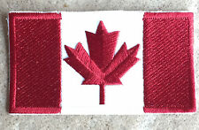 Sew-On Canadian Maple Leaf Flag Patch - Look Like You are a Canadian!