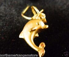 0.93 g Lucky Little Dolphin Gold Pedant Nugget (91.6% Gold or 22 K Gold)