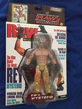 MOC WWE Jakks Raw Uncovered Magazine Cover Rey Mysterio Wrestling Action Figure