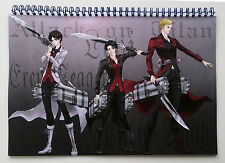 """Wall Calendar 2018 (12 pages 8""""X11"""" / A4) ATTACK ON TITAN Anime Manga A-727"""