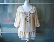 AUTHENTIC Liz Lisa cream lace blouse top~ NWT ~ Japan ~ Lolita ~ Japanese