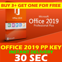 🔥MS OFFICE 2019 PROFESSIONAL PLUS 32/64 BIT🔑ORIGINAL LICENCE🚀INSTANT DELIVERY