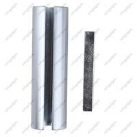 "Set 3/4"" to 7/8"" Shaft Adapter Pulley Bore Reducer Sleeve Bushing & Keystock"