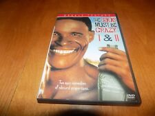 THE GODS MUST BE CRAZY 1 & 2 One Two South Africa Comedy Classic Movies DVD SET
