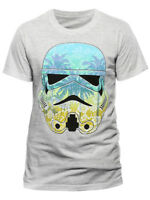 Star Wars Stormtrooper Command Hawaii Official Grey Mens T-shirt S-XXXL