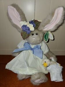 """The Bearington Collection Tulip and Ducky 17"""" Collectible Series Model 1077"""