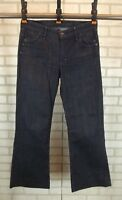 Citizens of Humanity Hutton Flare Jeans Medium Rise Womens Size 30 Wide Leg Blue