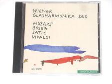 Wiener Glasharmonika Duo - CD - MOZART GRIEG SATIE VIVALDI - Schönfeldinger