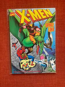 X-Men in the Savage Land TPB With Spider-Man Kazar Marvel Fanfare 1 2 3 4