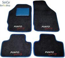 FIAT PUNTO SPORTING 3° SERIE TAPPETI AUTO +4loghi+4blok