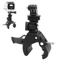 HN- Bicycle Bike Handlebar Clamp Roll Bar Mount+Tripod Adapter for GoPro Hero  S