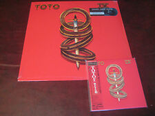 TOTO IV RARE AUDIOPHILE JAPAN OBI REPLICA CD + SPEAKER CORNER 180G AUDIOPHILE LP