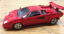 Italian EF08 Lamborghini Countach LP500- Red - 1/43 Scale Bubble Pack - 1st Post
